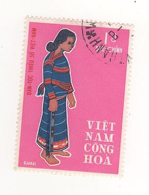 1969 North VIETNAM 1p. 2nd Anniv of Ethnic minorities stamp SG#343  Used