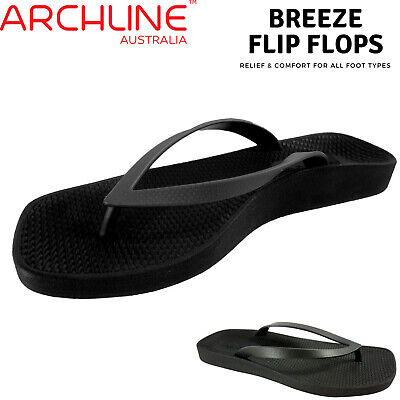 ARCHLINE Breeze Arch Support Orthotic Thongs Flip Flops Arch Support