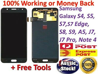Samsung Galaxy S9 S8 S5 S4 J2 J3 J5 Pro J8 A5 A3 LCD Touch Digitizer Replacement