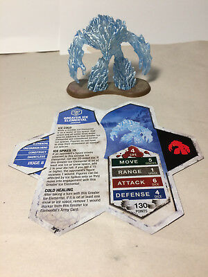 Heroscape Greater Ice Elemental 11/D1 Champions of the Forgotten Realms