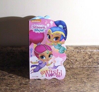 Nickelodeon Shimmer And Shine Board Book Wish NEW
