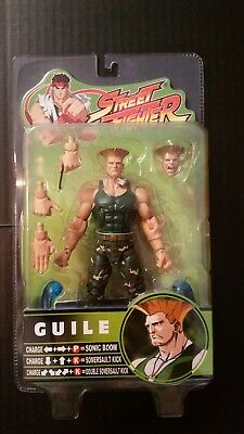 Guile Street Fighter SOTA Toys (Brand new)