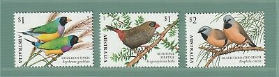 Australia 2018 : Finches of Australia - Design Set Mint Never Hinged