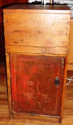 Antique Chinese Wooden Mini Cabinet 19 C