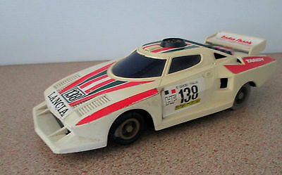 Vintage Radio Shack Sonic Controlled Tandy Lancia 138 Race Car Racer 70's