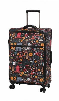 IT Luggage The Lite 54cm Carry On Luggage 1.9Kg -  Paris