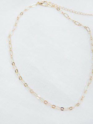 GOLD CHAIN CHOKER Link Layer Simple Boho Dainty Fashion Chains Necklace New