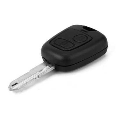Chiave Guscio Cover per Peugeot 106 107 205 206 207 Case Cover Uncut Blank Key