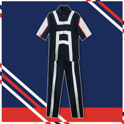 My Hero Academia Boku no Hero Academia Kohei Horikoshi gym Cosplay Costume Suit