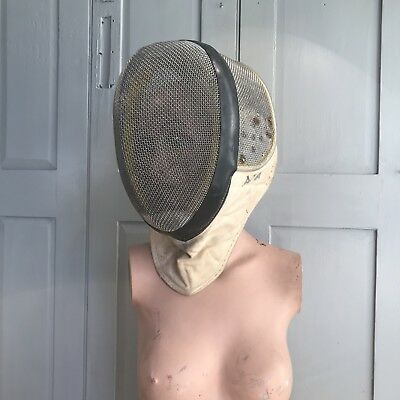 Vintage fencing mask by Paul