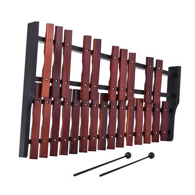 Classical Wooden Xylophone 25 Sound Traditional Mallet Percussion with Bag Gifts