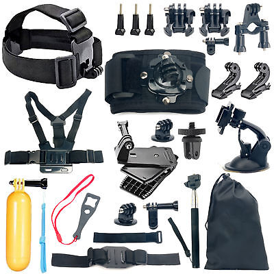 18-in-1 Sports Camera Accessories Kit for GoPro Go pro hero 5 4 3+ 3 2 1