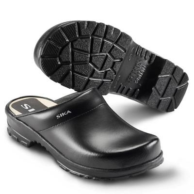 Sika Safety Shoe 149 Comfort Open Clog White sz. 43