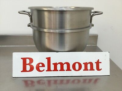 New HOBART Fit 30QT Stainless Steel Bowl BAKERY EQUIPMENT