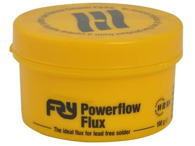 FRY POWERFLOW FLUX FOR LEAD FREE SOLDER 100g (BRAND NEW)