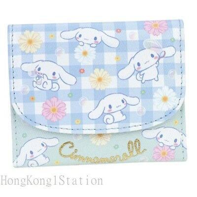 Cinnamoroll PU Wallet Coin Bag Cards Holder Case Kids Girl Purse Pouch Clutch