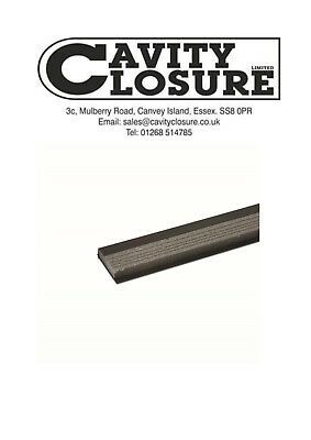 Cavity Closers 100mm to 50mm x 2.4mtr - pack of 20