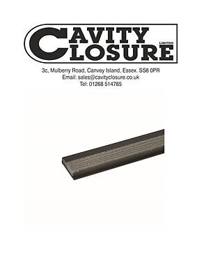 Cavity Closers 100mm to 50mm x 2.4mtr - pack of 10
