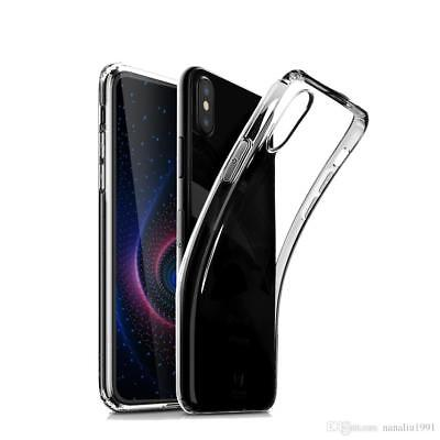 Huawei P20 Anti Scartch Thin Clear Transparent Silicone Gel Case Cover (NEW)