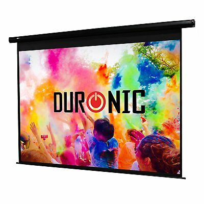 """Duronic EPS60/43 Pantalla Proyector Eléctrica Full HD y 3D - 60"""" 4:3"""