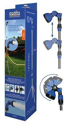 Shower Exterior for garden Pool Camping Portable Tripod and head Tilting