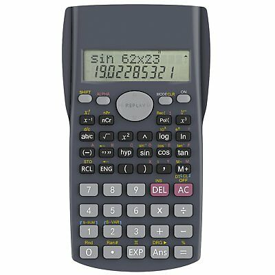 Calculatrice Scientifique Helect 2 lignes Qualité Professionnel Robuste