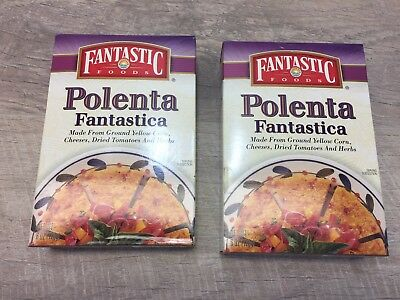1997 Fantastic Polenta Mix Unopened 20+ Years Old Great Prop Lot Of 2