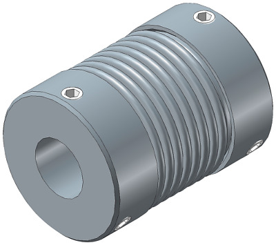 Bellows Coupling zero backlash