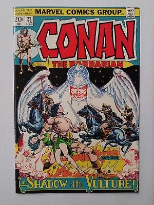 Conan The Barbarian #22, (1972) VF Shape, Marvel Comics, Free Shipping!