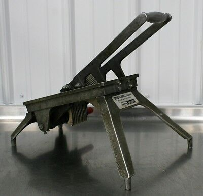 Lincoln Redco Onion King Slicer Commercial Restaurant Kitchen Metal