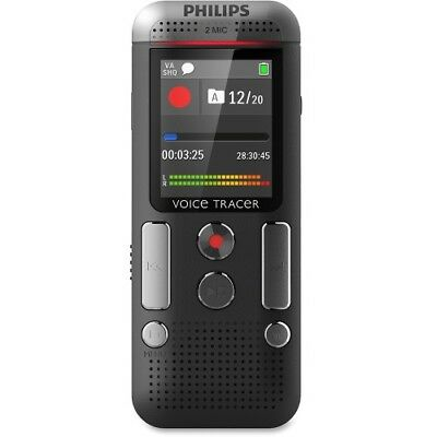 NEW Philips DVT2710/00 Voice Tracer Audio Recorder (DVT2710/00) 1.8-in 8GB