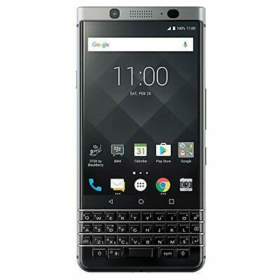 NEW Blackberry KEYONE 32GB 4GB Silver Unlocked GLOBAL GSM Android. OEM EXTRAS