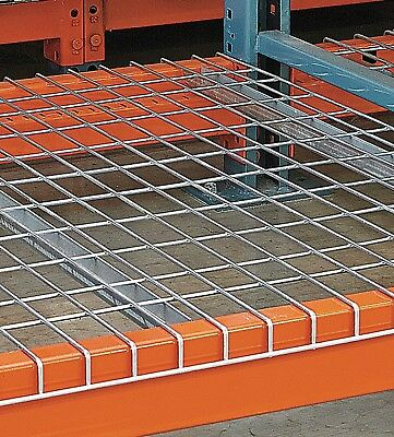 "Pallet Rack Wire Decking / Wire Mesh Deck, 45"" x 46"" x 1-1/2"" thick, 3 Channels"