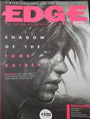 EDGE  ISSUE 320 July 2018 Shadow of the Tomb Raider   Issue.
