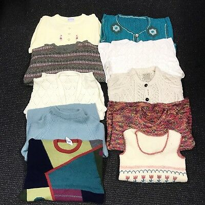 Wholesale Joblot Mixed Vintage Knitted Jumpers / Cardigan