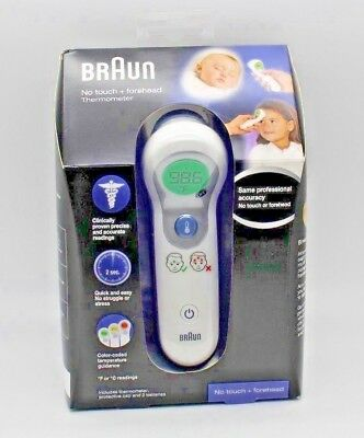 Braun NTF3000 Braun No Touch Plus Forehead Thermometer Quick & Easy NEW!!