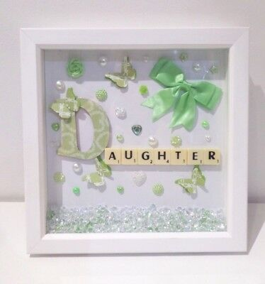 LOVELY DEEP box frames with lights beautiful sayings and quotes and ...