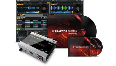 Native Instruments Traktor Scratch A6 Digital Vinyl System Timecode Software DVS