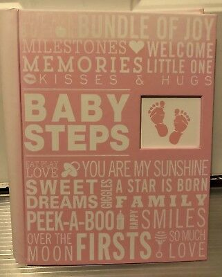 Baby Steps Album in Pink NEW