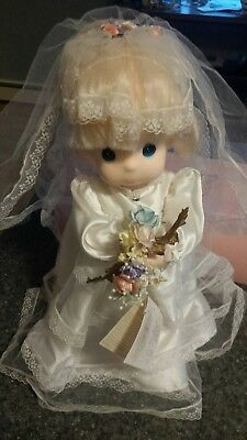 "Vintage Precious Moments JESSI! The Bride Doll 15"" Excellent Condition"
