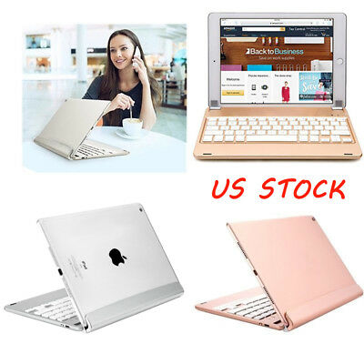 "ABS Keyboard Folio Wireless Cover Case with Stand for Apple iPad 9.7"" /Air/Air 2"