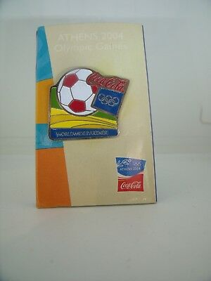 PIN'S  Pin Badge Jeux Olympiques JO OLYMPIC GAMES COCA COLA JAPAN 2004 ATHENES