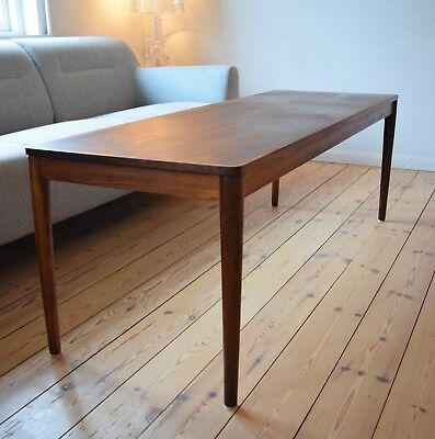 Danish Mid-Century Brazilian Rosewood Coffee Table From Trioh, Denmark. 1960's.