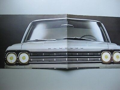 Renault Rambler folder depliant brochure Prospekt Dutch text 1966 12 pages