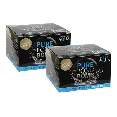Evolution Aqua Pure Pond Bomb x2 - perfect treatment for clear & healthy ponds!