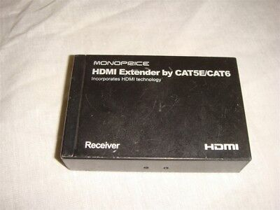 Monoprice Hdmi Extender Receiver By Cat5E/cat6 Box
