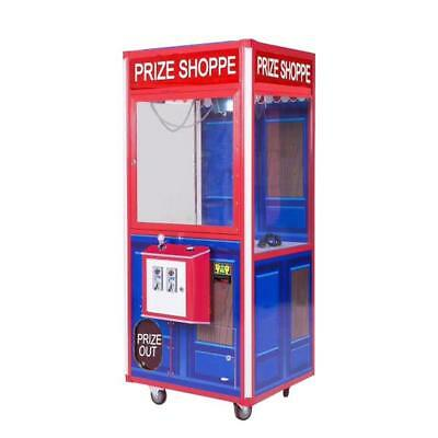 "Prize Plush Crane Claw Machine 33"" Coin Operated With DBA"