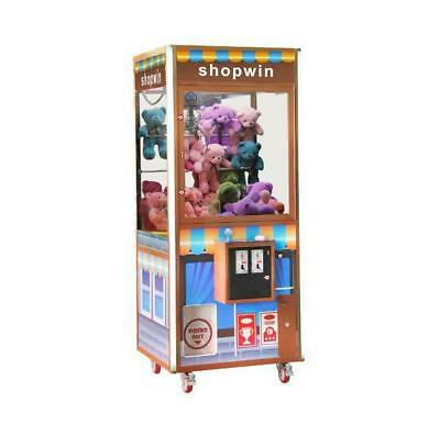 "Shopwin Prize Crane Machine 31"" Coin Operated Without DBA"