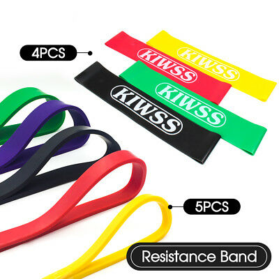Heavy Duty Resistance Stretch Band Loop Gym Fitness Exercise Yoga