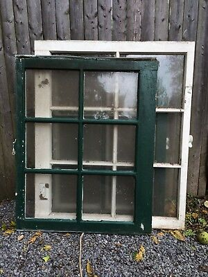 Vintage Sash Antique Wood Six Pane, For Mirror, Picture Frame,pinterest, 3 Sizes